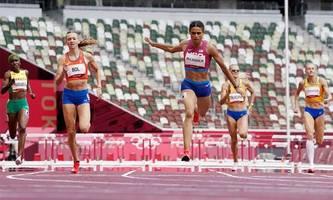 Auch bei Damen fällt der Weltrekord über 400 Meter Hürden