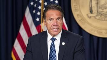 US-Politik im News-Ticker - Er soll elf Frauen sexuell belästigt haben: Jetzt fordert Biden Cuomo zum Rücktritt auf