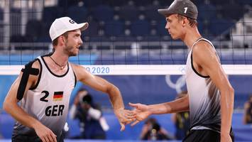 Olympia - Beachvolleyball - Thole/Wickler - Krasilnikow/Stojanowski im Live-Ticker: Spiel ums Halbfinale