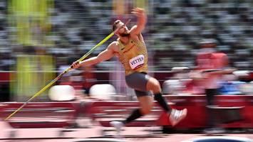 Olympia in Tokio - Zittrige Qualifikation! Speerwurf-Favorit Vetter bangt um Goldchance im Finale