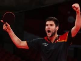 Tischtennis bei Olympia: Im Finale wartet der Gigant