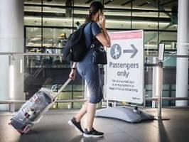Testpflicht ja, Quarantäne nein: Briten lockern Einreise-Regeln für Ungeimpfte