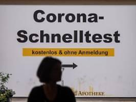 Teure Pandemie-Bekämpfung: Gratis-Tests kosten Bund 3,7 Milliarden Euro