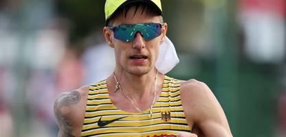 Olympia 2021: Geher Christopher Linke – Mit Selbstgesprächen und Eisbeuteln in der Mütze gegen die Hitze
