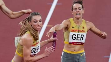 Olympia: Frauen-Staffel über 4 x 400 Meter scheidet nach Vorlauf aus