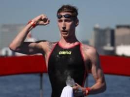 olympiasieger florian wellbrock: jungs, wollt ihr gar keinen wettkampf heute?