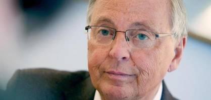 """""""Das ist nicht meine Welt"""" – Bosbach will für CDU keinen Wahlkampf mehr machen"""