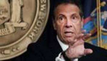 andrew cuomo: druck auf new yorker gouverneur wächst