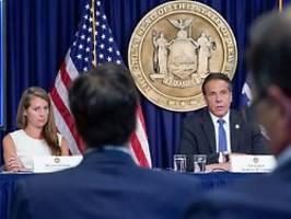 belästigungsvorwürfe gegen cuomo: mitarbeiterin kehrt gouverneur den rücken