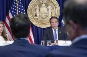 us-innenpolitik: amtsenthebungsverfahren gegen cuomo rückt näher