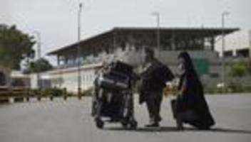 afghanistan: deutschland setzt abschiebungen nach afghanistan vorerst aus