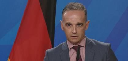 maas begrüßt entscheidung, abschiebungen nach afghanistan auszusetzen