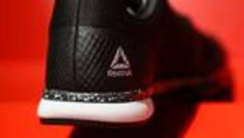 sportartikelhersteller: adidas verkauft reebok in die usa