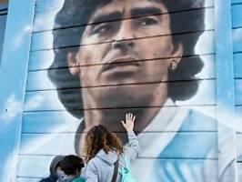 werbung und gedenken an maradona: 1703 diego armandos in argentinien gesucht