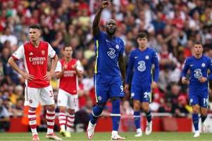 Traumstart: Lukaku trifft bei Chelseas Sieg gegen Arsenal