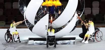 paralympics 2021: die fotos der eröffnungsfeier