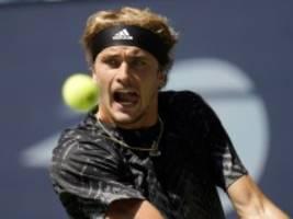 Zverev bei den US Open: Nur ein kleiner Schluckauf