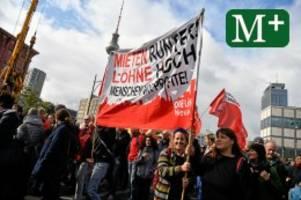 Mietendemonstration: Großdemonstration in Berlin für Mietenstopp und Mietendeckel