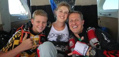 Was Michael Schumacher kurz vor dem Unfall noch seiner