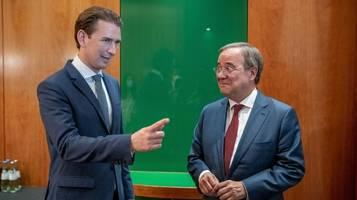 Bundestagswahl | Kanzler Kurz: Laschet ist der Richtige für Deutschland