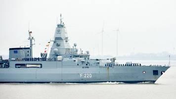 marine-manöver auf der ostsee mit deutscher beteiligung