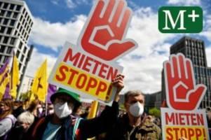 Großdemonstration: Zehntausende gehen für Mietenstopp in Berlin auf die Straße