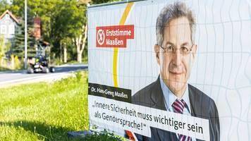Anti-Maaßen-Kampagne in Thüringen: Grüne rufen zur Wahl von SPD auf