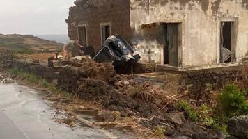 Unwetter: Zwei Tote bei Sturm auf italienischer Insel Pantelleria