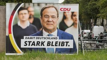 """""""nach der wahlniederlage zum teufel jagen"""" - cdu-ortsverband hängt keine laschet-plakate auf - und attackiert bundesvorstand"""
