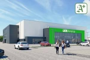 """lüneburg: veranstaltungshalle startet als """"lkh arena"""""""