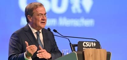 """Laschet attackiert Scholz – """"Hat Angst vor den Linken in der eigenen Partei"""""""