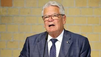 Joachim Gauck greift Impfgegner an: Bekloppte