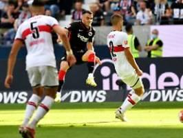 VfB wehrt sich in Unterzahl: Auch mit Kostic kann Frankfurt nicht siegen