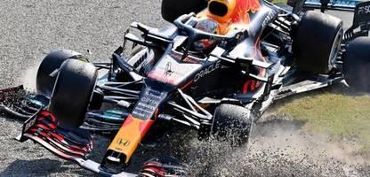 Formel 1 in Monza: Lewis Hamilton und Max Verstappen kollidieren bei McLaren-Doppelsieg