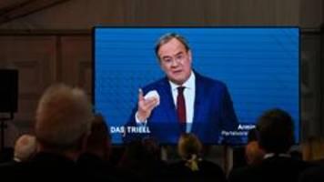 Triell der Kanzlerkandidaten: Laschet sucht Streit