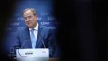 Bundestagswahl: Armin Laschet präsentiert Sofortprogramm
