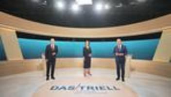 Bundestagswahl: Streit um Geldwäsche, Mieten und Klimapolitik beim TV-Triell