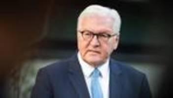 steinmeier: bundespräsident lässt umgang seiner vorgänger mit ns-zeit aufarbeiten