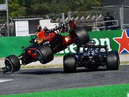 Formel-1-Crash in der Presse: Kampf zwischen Monstern, die sich hassen