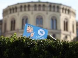 Regierungswechsel in Norwegen?: Wahlkampf auf faire Klimapolitik ausgerichtet