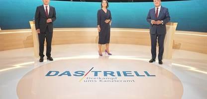 Umfrage zum TV-Triell: Armin Laschet überzeugt mehr Zuschauer als vor zwei Wochen