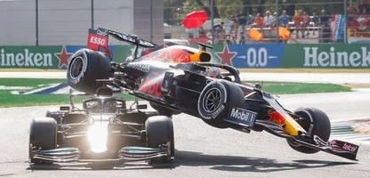 Formel 1: Pressestimmen zum Rennen in Monza – »Der Unfall der Titelrivalen war beängstigend«