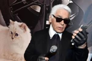 Auktion: Karl Lagerfelds Nachlass wird versteigert