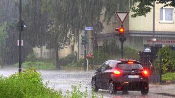 ungemütliches wetter in nrw: gewitter und starkregen möglich