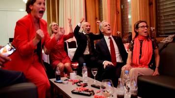 Parlamentswahl - Regierungswechsel in Norwegen: Sozialdemokraten klar vorn