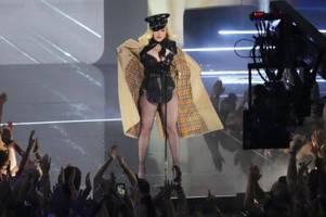 madonna eröffnet mtv video music awards in new york