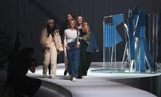 Leni Klum auf der Fashion Week Berlin