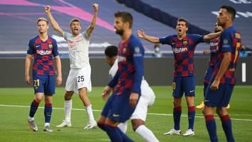 Revanche zum Königsklassen-Auftakt - Ein Jahr nach der 8:2-Schmach ist Barca für die Bayern plötzlich eine große Unbekannte