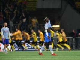 champions league: bern schockt manchester united in letzter minute