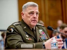 Zugriff auf Atomwaffen: US-General wollte Trump stoppen